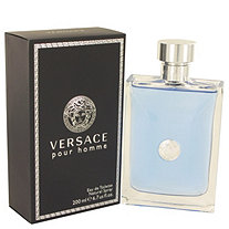 Versace Pour Homme by Versace for Men Eau De Toilette Spray 6.7 oz
