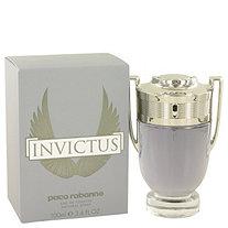 Invictus by Paco Rabanne for Men Eau De Toilette Spray 3.4 oz