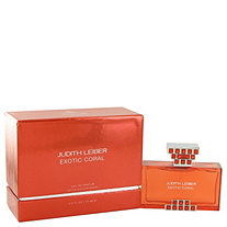 Judith Leiber Exotic Coral by Judith Leiber for Women Eau De Parfum Spray 2.5 oz