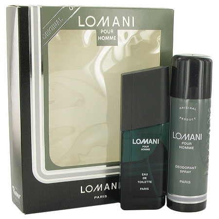 LOMANI by Lomani for Men Gift Set -- 3.4 oz Eau De Toilette Spray + 6.7 oz Deodorant Spray at PalmBeach Jewelry