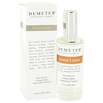 Demeter by Demeter for Women Suntan Lotion Cologne Spray 4 oz