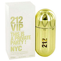 212 Vip by Carolina Herrera for Women Eau De Parfum Spray 1.7 oz