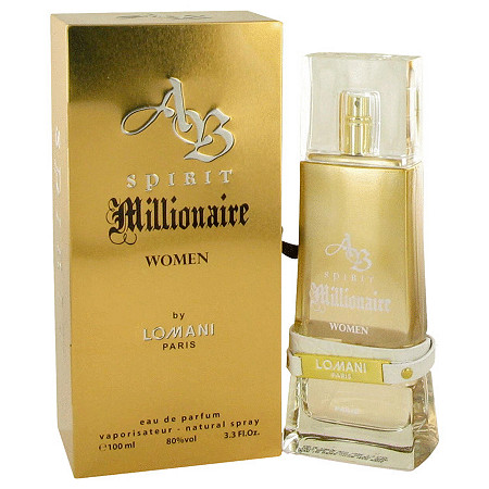 Spirit Millionaire by Lomani for Women Eau De Parfum Spray 3.3 oz at PalmBeach Jewelry