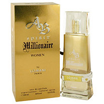 Spirit Millionaire by Lomani for Women Eau De Parfum Spray 3.3 oz