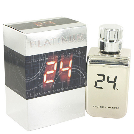 24 Platinum The Fragrance by ScentStory for Men Eau De Toilette Spray 3.4 oz at PalmBeach Jewelry