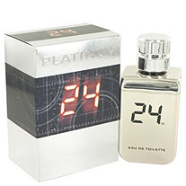 24 Platinum The Fragrance by ScentStory for Men Eau De Toilette Spray 3.4 oz