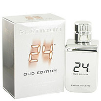 24 Platinum Oud Edition by ScentStory for Men Eau De Toilette Concentree Spray (Unisex) 3.4 oz