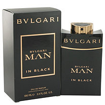Bvlgari Man In Black by Bvlgari for Men Eau De Parfum Spray 3.4 oz