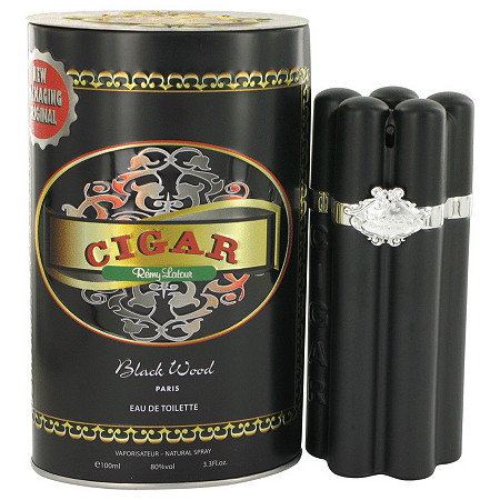 Cigar Black Wood by Remy Latour for Men Eau De Toilette Spray 3.3 oz at PalmBeach Jewelry