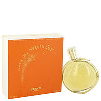 L'ambre Des Merveilles by Hermes for Women Eau De Parfum Spray 3.3 oz