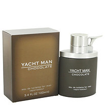Yacht Man Chocolate by Myrurgia for Men Eau De Toilette Spray 3.4 oz