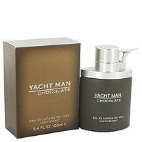 Yacht Man Chocolate by Myrurgia for Men Eau De Toilette Spray 3.4 oz
