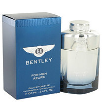 Bentley Azure by Bentley for Men Eau De Toilette Spray 3.4 oz