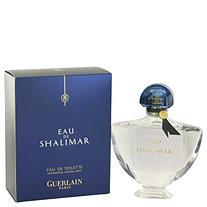 Eau De Shalimar by Guerlain for Women Eau De Toilette Spray (New Packaging) 3 oz