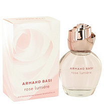 Armand Basi Rose Lumiere by Armand Basi for Women Eau De Toilette Spray 3.3 oz
