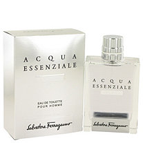 Acqua Essenziale Colonia by Salvatore Ferragamo for Men Eau De Toilette Spray 3.4 oz