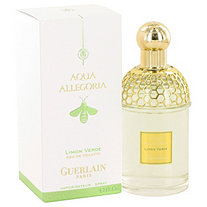 AQUA ALLEGORIA Limon Verde by Guerlain for Women Eau De Toilette Spray 4.2 oz