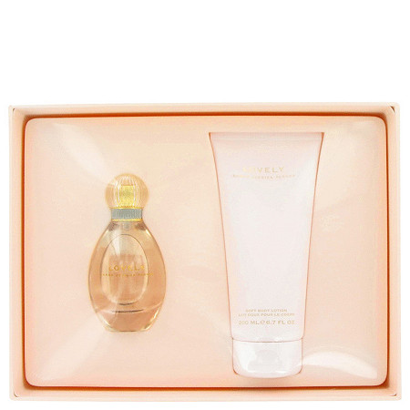 Lovely by Sarah Jessica Parker for Women Gift Set -- 1.7 oz Eau De Parfum Spray + 6.7 oz Body Lotion at PalmBeach Jewelry