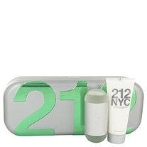 212 by Carolina Herrera for Women Gift Set -- 2 oz Eau De Toilette Spray + 3.4 oz Body Lotion