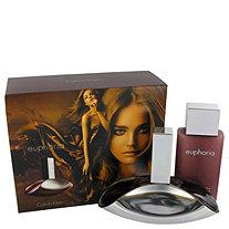 Euphoria by Calvin Klein for Women Gift Set -- 3.4 oz Eau De Parfum Spray + 3.4 oz Sensual Skin Lotion (Travel Kit)