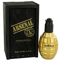 Arsenal Gold by Gilles Cantuel for Men Eau De Parfum Spray 3.4 oz