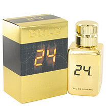 24 Gold The Fragrance by ScentStory for Men Eau De Toilette Spray 1.7 oz