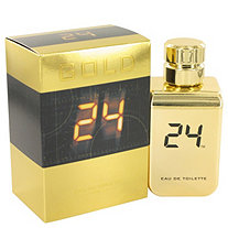 24 Gold The Fragrance by ScentStory for Men Eau De Toilette Spray 3.4 oz