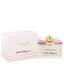 Signorina by Salvatore Ferragamo for Women Eau De Toilette Spray 3.4 oz