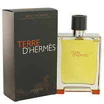 Terre D'Hermes by Hermes for Men Pure Perfume Spray 6.7 oz