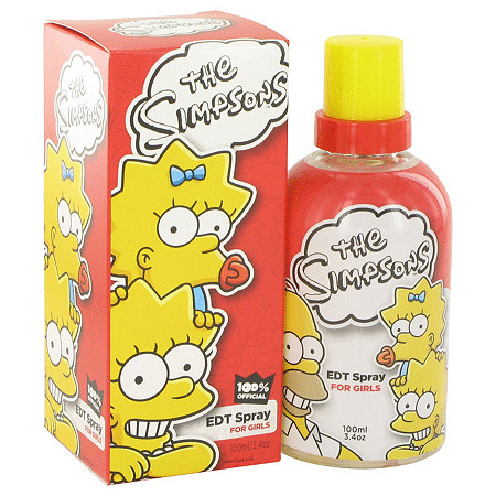 The Simpsons by Air Val International for Women Eau De Toilette Spray 3.4 oz at PalmBeach Jewelry