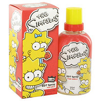The Simpsons by Air Val International for Women Eau De Toilette Spray 3.4 oz