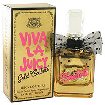 Viva La Juicy Gold Couture by Juicy Couture for Women Eau De Parfum Spray 3.4 oz