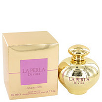 La Perla Divina Gold by Ungaro for Women Eau De Toilette Spray 2.7 oz