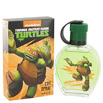 TEENAGE MUTANT NINJA TURTLES Michelangelo by Marmol & Son for Men Eau De Toilette Spray 3.4 oz
