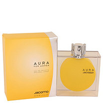 AURA by Jacomo for Women Eau De Toilette Spray 1.4 oz