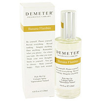 Demeter by Demeter for Women Banana Flambee Cologne Spray 4 oz