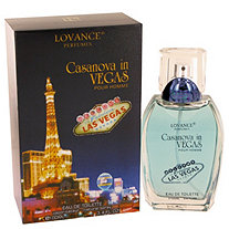 Casanova in Vegas by Lovance for Men Eau De Toilette Spray 3.4 oz