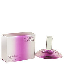 Forbidden Euphoria by Calvin Klein for Women Eau De Parfum Spray 1 oz