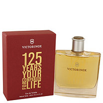 Victorinox 125 Years by Victorinox for Men Eau De Toilette Spray (Limited Edition) 3.4 oz