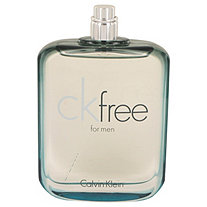 CK Free by Calvin Klein for Men Eau De Toilette Spray (Tester) 3.4 oz