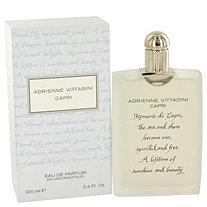 Capri by Adrienne Vittadini for Women Eau De Parfum Spray 3.4 oz