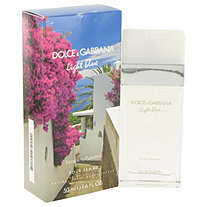 Light Blue Escape to Panarea by Dolce & Gabbana for Women Eau De Toilette Spray 1.6 oz
