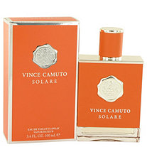 Vince Camuto Solare by Vince Camuto for Men Eau De Toilette Spray 3.4 oz