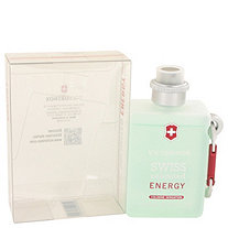 Swiss Unlimited Energy by Victorinox for Men Cologne Spray 5 oz