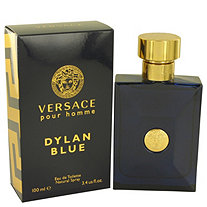 Versace Pour Homme Dylan Blue by Versace for Men Eau De Toilette Spray 3.4 oz