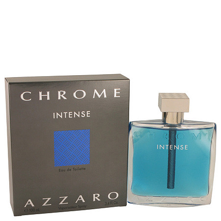 Chrome Intense by Azzaro for Men Eau De Toilette Spray 3.4 oz at PalmBeach Jewelry