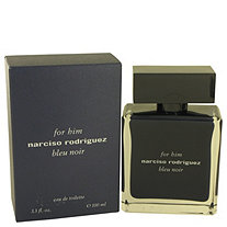 Narciso Rodriguez Bleu Noir by Narciso Rodriguez for Men Eau De Toilette Spray 3.4 oz