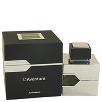 L'aventure by Al Haramain for Men Eau De Parfum Spray 3.3 oz