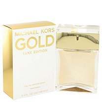 Michael Kors Gold Luxe by Michael Kors for Women Eau De Parfum Spray 3.4 oz