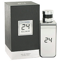 24 Platinum Elixir by ScentStory for Men Eau De Parfum Spray 3.4 oz